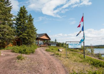 The Łutsël K'é Dene First Nation purchased the Frontier Lodge in December 2019