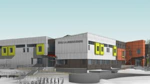A Stantec Consulting rendering of what the new École JH Sissons will look like.