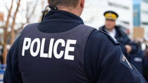 A file photo of NWT RCMP officers