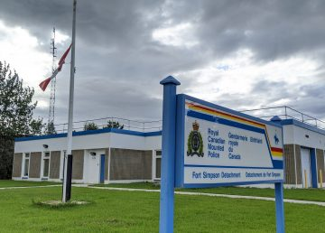 Fort Simpson's RCMP detachment