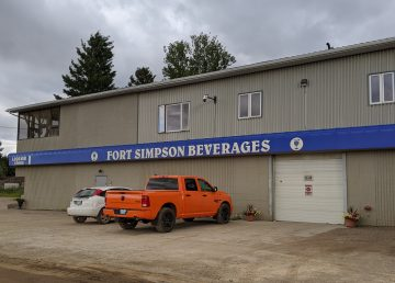Fort Simpson's liquor store