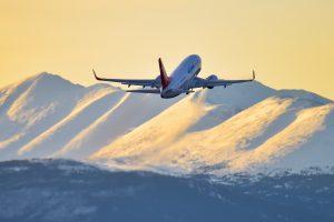 Air North aircraft taking off