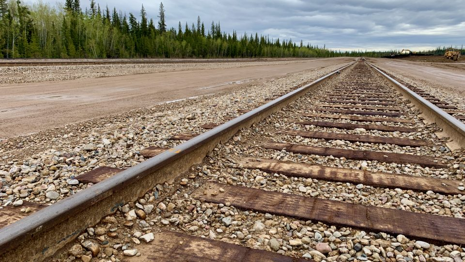 The rail yard currently stretches to 4.5 km. Sarah Pruys/Cabin Radio