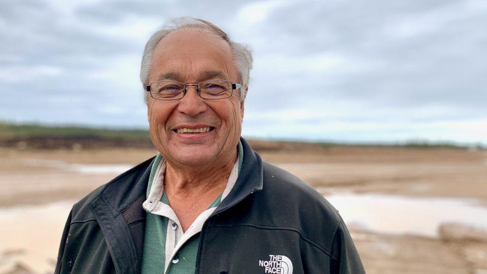 Joe Handley on the AWP Industrial Park site in June 2020