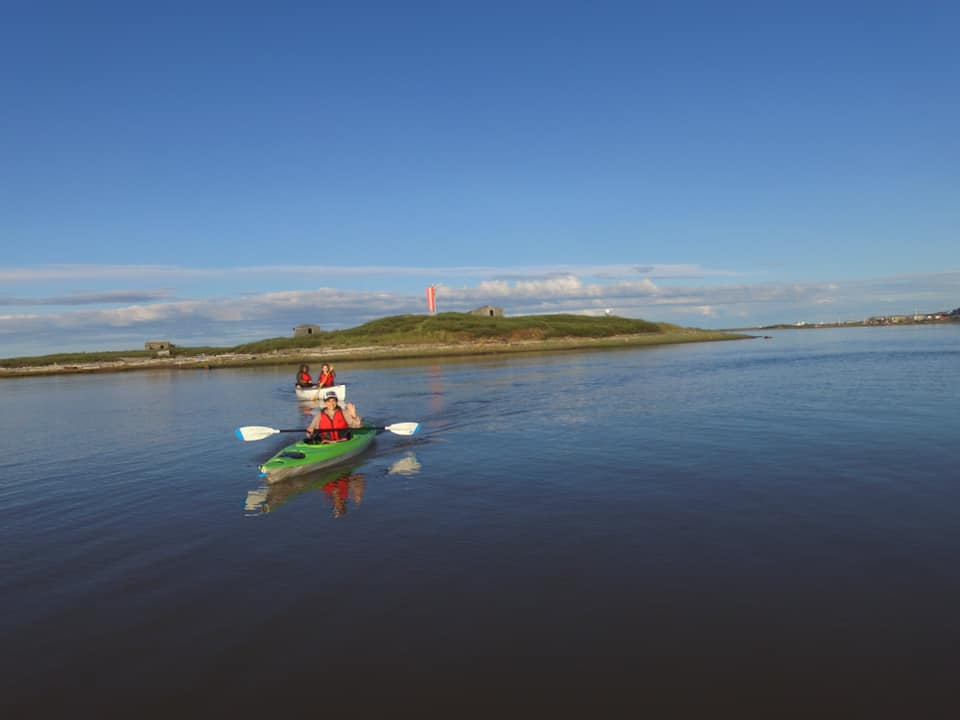Arctic Ocean Canoe and Qayaks is now open in Tuktoyaktuk