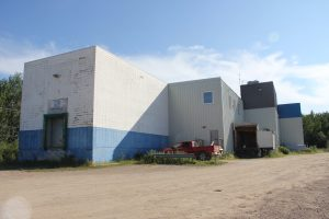 A submitted photo of the existing Hay River fish plant