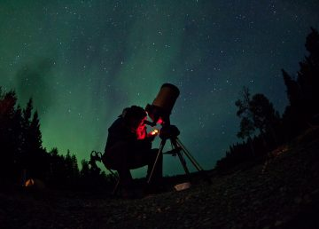 A submitted photo from the Dark Sky Festival in 2014
