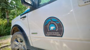 A Government of the Northwest Territories Ford F-150 truck