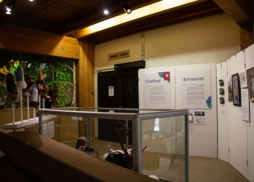 The Crafted display at the Prince of Wales Northern Heritage Centre in Yellowknife