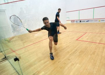 The Racquet Club in Yellowknife is allowing 'squash bubbles' of up to five players each