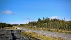 The Ingraham Trail in September 2020