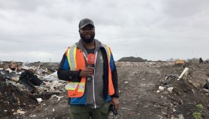 Chris Vaugh, manager of sustainability and solid waste for the City of Yellowknife