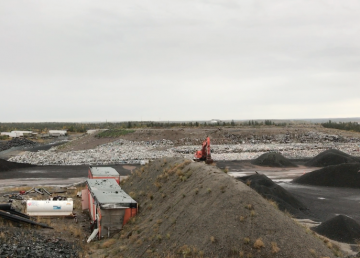Yellowknife's landfill