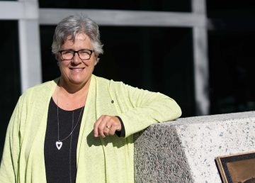 Julie Green, the NWT health minister, is pictured in September 2020