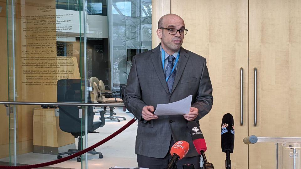 NWT deputy chief public health officer Andy Delli-Pizzi
