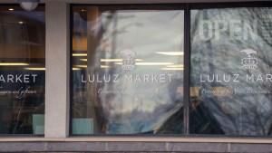 Luluz Market is pictured in October 2020