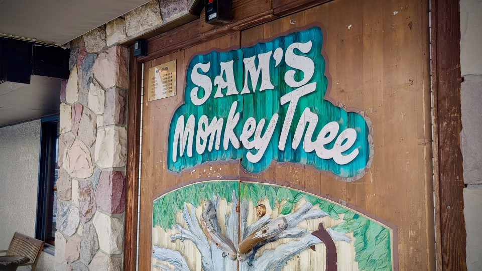 Sam's Monkey Tree Pub in Yellowknife