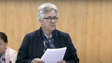 Julie Green speaks in the Legislative Assembly on October 21, 2020