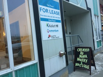 The CloudWorks Four building in downtown Yellowknife
