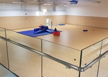 The gymnasium at the Kǫ̀ Gocho Centre in Behchokǫ̀