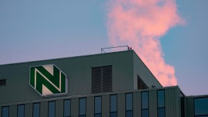 The Northwestel building in downtown Yellowknife on November 20, 2020