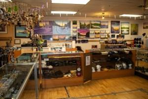 Aurora Emporium Art Gallery in Yellowknife