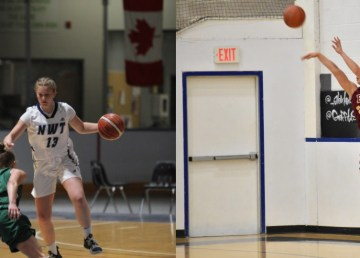 Mali Straker (left) and Janet Rose (right) have been recruited for Ontario university basketball teams