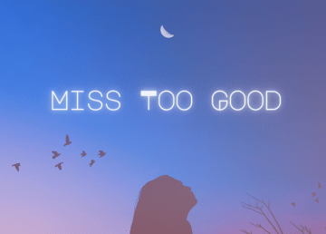 Cover art for Miss Too Good by Yellowknife singer Nara and producer Ranec