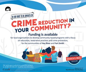 GNWT Justice - Crime Reduction