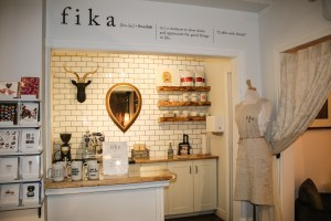 The Fika café inside Iceblink on Franklin Avenue in downtown Yellowknife