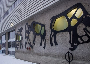 A file photo of the Yellowknife Courthouse. Luisa Esteban/ Cabin Radio