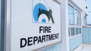 Inuvik's fire department building in January 2021