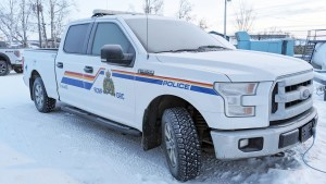 A file photo of an RCMP vehicle