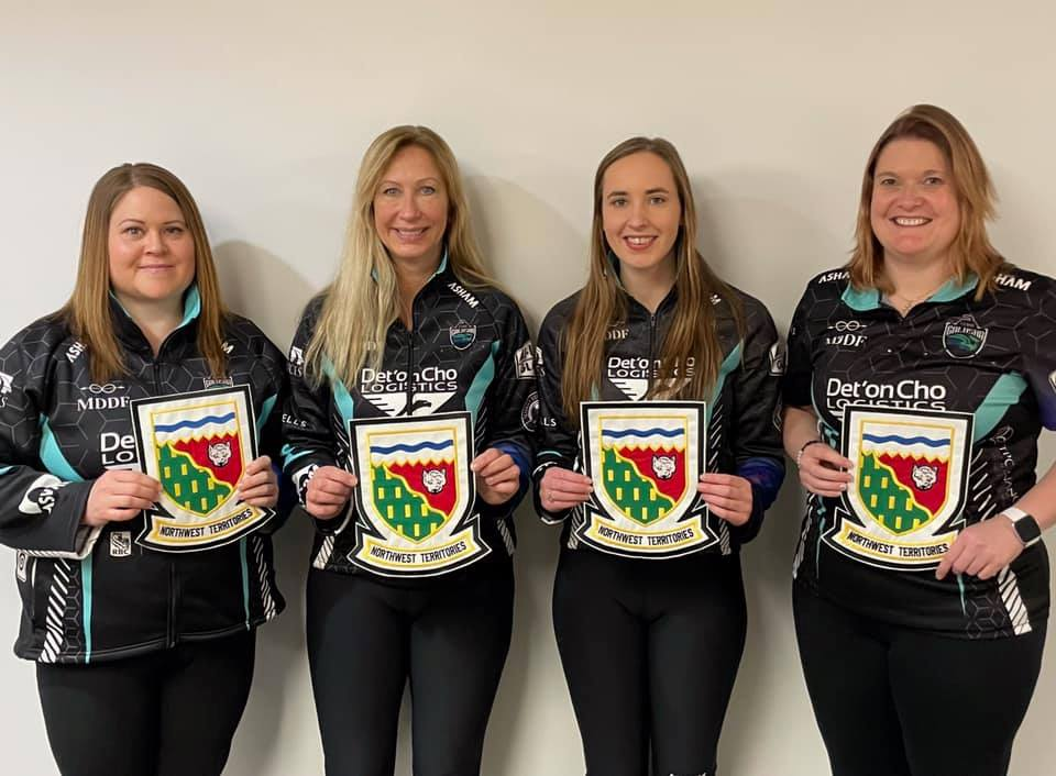 Team Galusha is representing the NWT at the 2021 Scotties