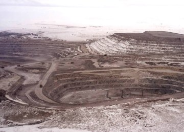 A De Beers image of the Gahcho Kué mine