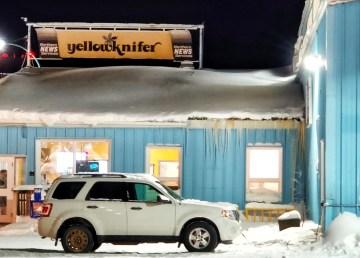 NNSL's Yellowknife office in February 2021