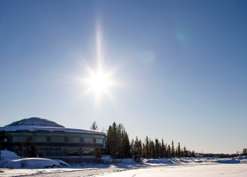 The NWT Legislative Assembly. Ollie Williams/Cabin Radio