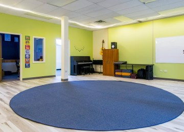 A 2019 photo shared by Music Space shows the centre's main room