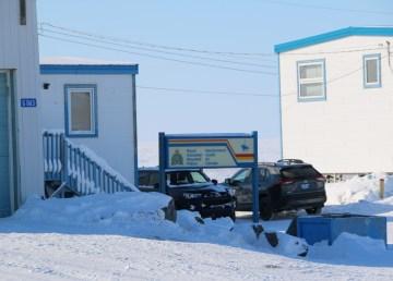 The RCMP detachment in Tuktoyaktuk