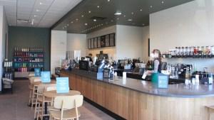 Inside Yellowknife's Starbucks