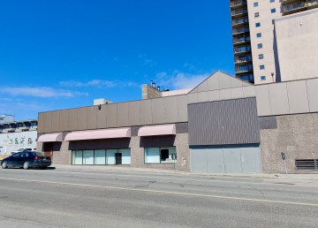 Yellowknife's Centre Square Mall in May 2021