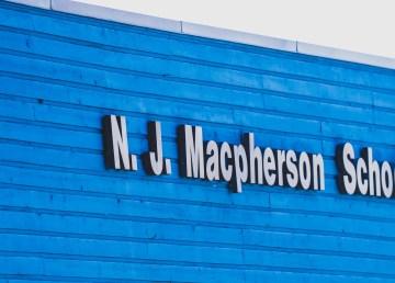 NJ Macpherson School in May 2021
