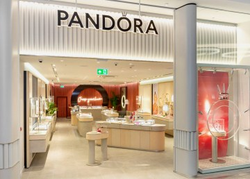 An image of a Pandora concept store issued by the company