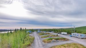 Inuvik's Jak Territorial Park in June 2021