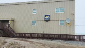 A health centre in Tuktoyaktuk
