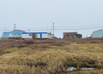 Homes in Tuktoyaktuk