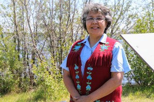 Jane Weyallon, president of the Native Women's Association of the NWT