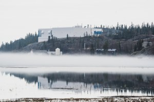 Yellowknife's water treatment plant is seen in June 2021
