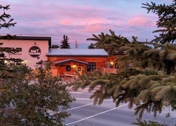 The NWT Brewing Company in August 2020. Sarah Pruys/Cabin Radio