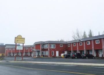 The Spruce Bough transitional housing facility in June 2021. Sarah Pruys/Cabin Radio
